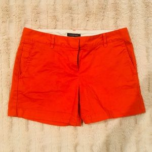 J Crew red shorts